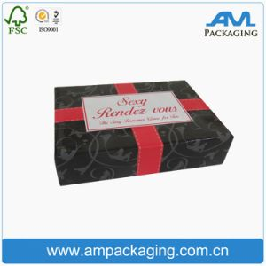 Custom Black Paper Boxes for Hair Packaging Wig Box for Lady Beauty pictures & photos