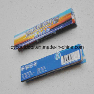 100% Natural Rolling Paper Cigarette Rolling Paper Elements King Size Slim pictures & photos