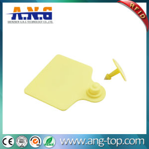 Long Range Plastic UHF RFID Animal Ear Tag for Tracking pictures & photos