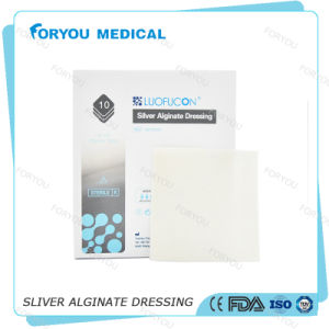 Huizhou Foryou Medical 2g Alginate Pad Wound Dressing Pressure Sore Alginate Gel Dressing Calcium Wounds Care pictures & photos