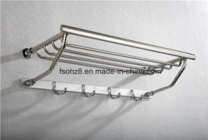 Elegant Modern Stainless Bathroom Accessories Towel Rack (816) pictures & photos