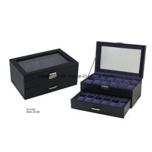 Glasses Window 24PCS Watches Storage Watch Case Gift Watch Box pictures & photos