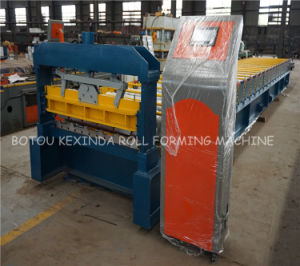 1000 Trapzoidal Roofing Sheet Roll Forming Machine pictures & photos