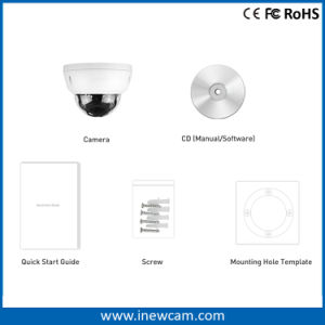 4MP 2.8-12mm Varifocal Dome Poe Network Security IP Camera pictures & photos