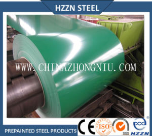Az150 Green Color Coated Galvalume Steel Coil pictures & photos