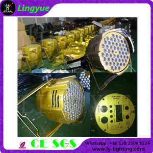 Golden 54PCS Indoor Best Quality PAR LED Effect Light pictures & photos