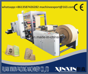 Computer Contorl Touch Screen PLC Paper Bag Making Machine SBR Serial pictures & photos