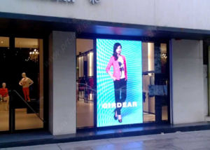 High Definition P3 Full Color LED Window Display for Shop/Corridor pictures & photos