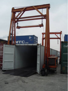 36ton Walking Under Container Crane (JD36) pictures & photos