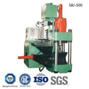 Aluminum Scrap Hydraulic Briquetting Press Metal Scrap Briquette Machine-- (SBJ-500) pictures & photos