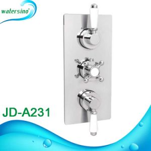 Chrome Finishing Brass Material Thermostatic Bath Shower Mixer Tap pictures & photos