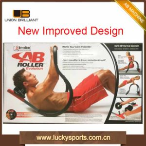 Abdominal Body Building Build Fitness Solutions with Colourful Packming Ab Roller pictures & photos