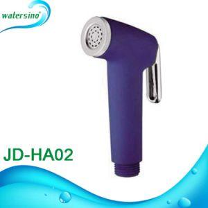 Round Design White Toilet Bidet Spray for Bathroom Accessories pictures & photos
