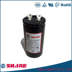 250VAC 75UF CD60 Motor Start Capacitor with Wire pictures & photos