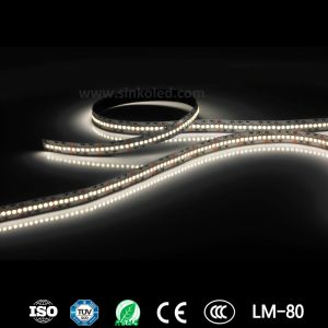 High Power High Lumen 57.6W/M SMD2835 Single Line 240LEDs/M Flexible LED Strip Light pictures & photos