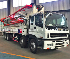HOWO 38m 42m 52m ISUZU concrete pump truck pictures & photos