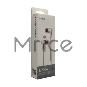 New Product Earphone Mrice E300A Bass Headset pictures & photos