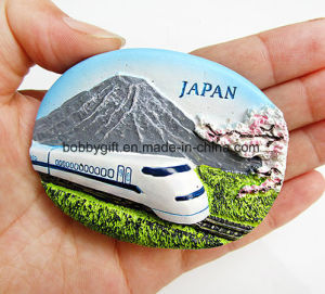 Customized Building Resin Fridge Magnet for Promotional Gift pictures & photos