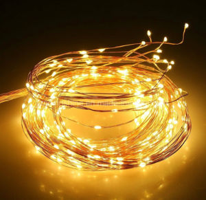 Warm White Multi Branch Waterfall Copper Wire String Light Xmas Party Wedding Decor pictures & photos