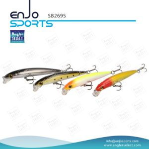 Plastic Artificial Bait Shallow Fishing Hard Lure with Vmc Treble Hooks pictures & photos