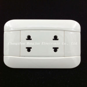 6A /250V ABS Material Copper Contact Hot Sell Wall Socket (G810) pictures & photos