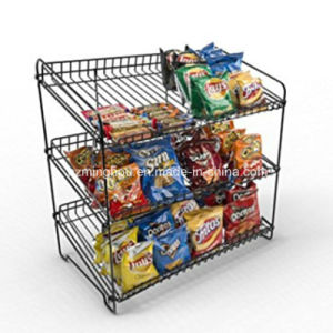Promotion Snacks Metal Supermarket Rack Display Rack pictures & photos