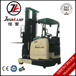 Jeakue 1.5-2.0ton Fork Reach AC Motor Two Stage Electric Forklift pictures & photos