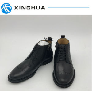 High Quality Hand Make Men Leather Shoes Office Shoes pictures & photos