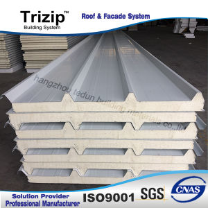 Steel Polyurethane Sanwich Panel for Roof pictures & photos