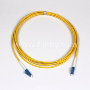 Fiber Optic Patch Cord Dual LC to LC 3.0mm 9/125 pictures & photos