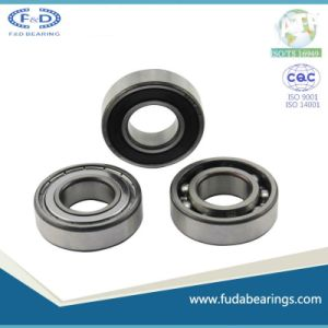 One way bearings 6205ZZ Steel cage Deep groove ball bearing pictures & photos