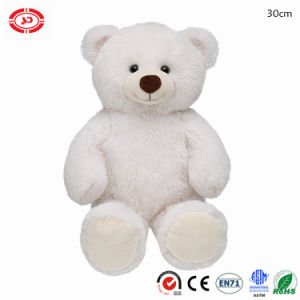 Christmas Printed Fabric Plush Sitting Animal Soft Teddy Bear Toy pictures & photos