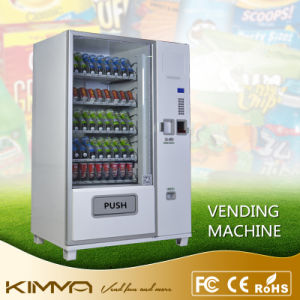 Big Capacity Vending Machine with Bill Dispenser Operated by Mdb System pictures & photos