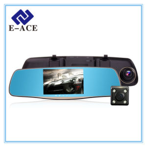 5.0 Inch Rearview Mirror Dual Lens with Car Dvrs pictures & photos