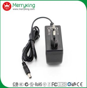 12V2000mA AC/DC EU Plug Power Adapter with Ce Certificate pictures & photos
