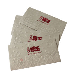 Customizable Embossing Printing Paper Money Packet pictures & photos
