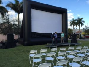 Inflatable Movie Screen Inflatable Projector Screens for Outdoor