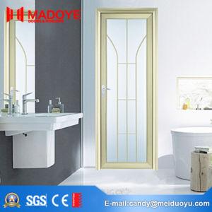 European Style Aluminium Building Material Bathroom Casement Door pictures & photos