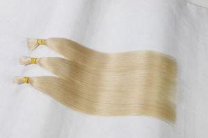 European Straight Virgin Human Hair 6A Hair Bulk pictures & photos