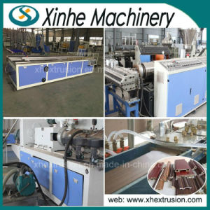 High Quality PVC Wood Plastic WPC Profile Production Line /PVC Extrusion Machine pictures & photos