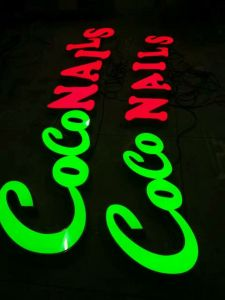 Outdoor Facelit Acrylic Letters LED Sign pictures & photos
