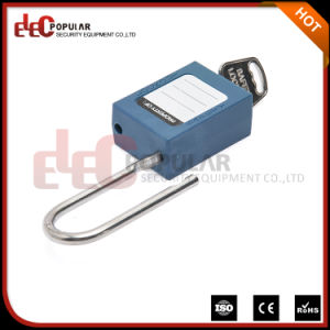 Thin Steel Shackle 4.5mm Safety Padlock Lockout with Master Key pictures & photos