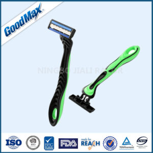 Good Quality 3 Blade Disposable Razor Goodmax pictures & photos