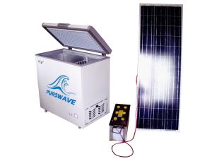 Purswave 568L DC24V48V220V110V Super Large Solar Freezer Battery Freezer pictures & photos