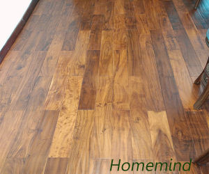 Finished Small Leaf Acacia Flooring /Acacia Natural Wooden Flooring pictures & photos