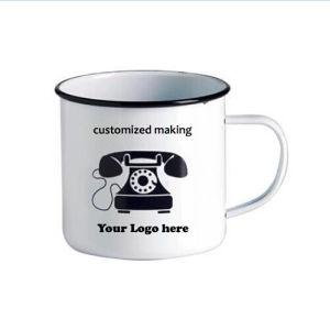 Hot Sale Custom Making Enamel Mug pictures & photos