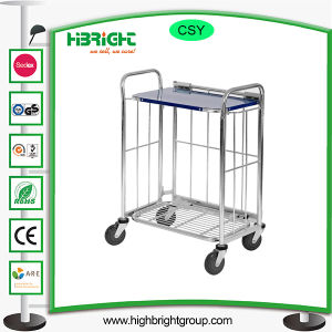 Metal Foldable Collapsible Restaurant Cart pictures & photos