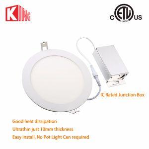 Kingliming 4inch Round LED Panel Light ETL Energy Star LED Pot Light IC Rated