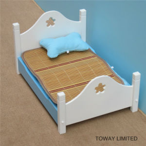 Wood Painting Pet Beds with Matts Bone Pillow Dog House pictures & photos