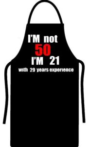 50th Birthday Mens Womens Gift Present Apron Funny All Colours pictures & photos